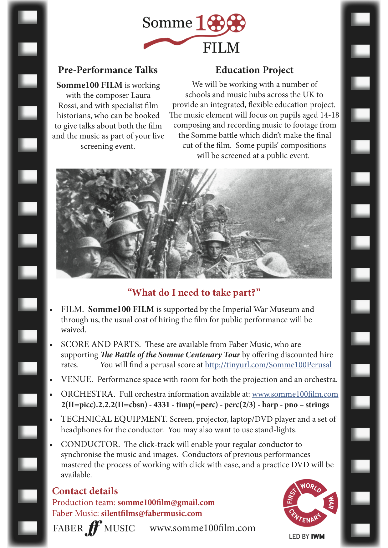 1 Somme100 FILM general information flyer p2