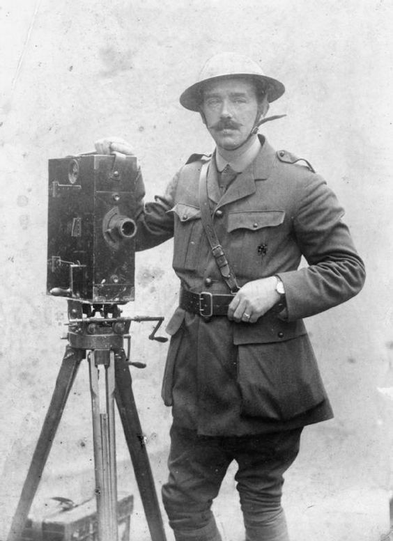 John McDowell with his camera